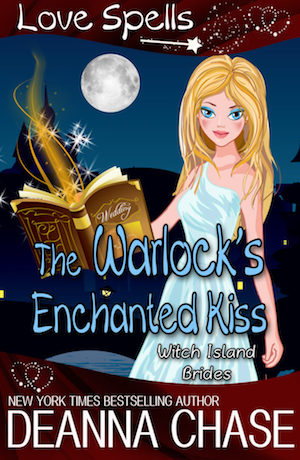The Warlock's Enchanted Kiss by Deanna Chase