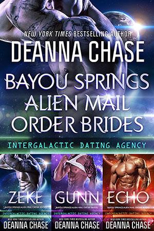 Bayou Springs Alien Mail Order Brides Box Set, Books 1-3