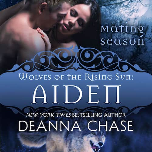 Audiobook cover for Aiden audiobook by Deanna Chase