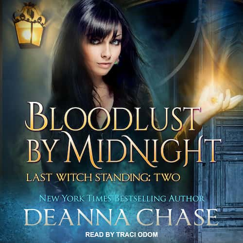 Audiobook cover for Bloodlust by Midnight audiobook by Deanna Chase