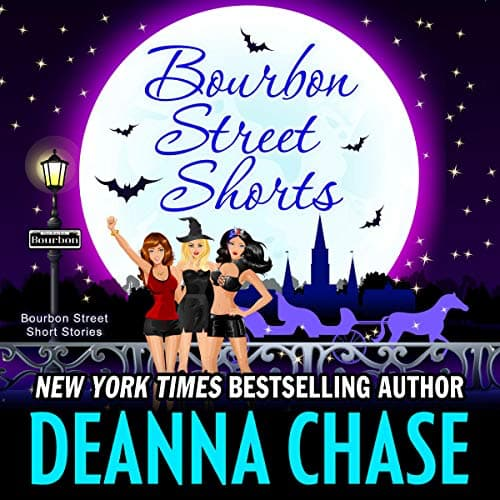 Audiobook cover for Bourbon Street Shorts by Deanna Chase