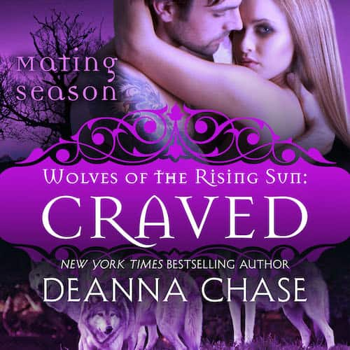 Audiobook cover for Craved audiobook by Deanna Chase