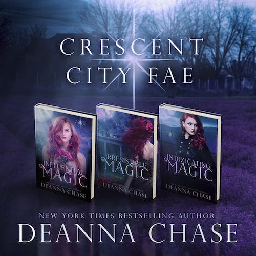Audiobook cover for Crescent City Fae Complete Boxed Set audiobook by Deanna Chase