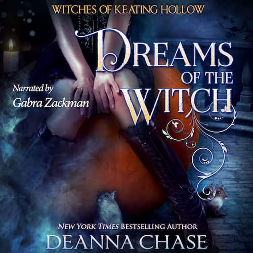 Audiobook cover for Dreams of the Witch audiobook by Deanna Chase