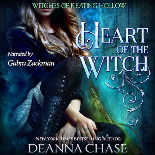 Audiobook cover for Heart of the Witch (audiobook) by Deanna Chase