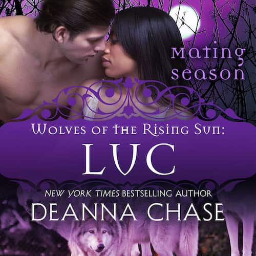 Audiobook cover for Luc audiobook by Deanna Chase