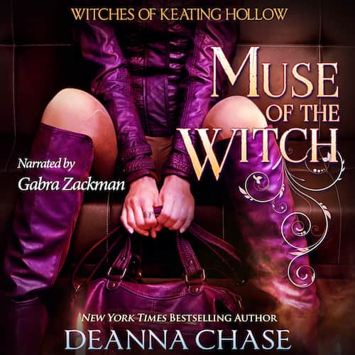 Audiobook cover for Muse of the Witch audiobook by Deanna Chase