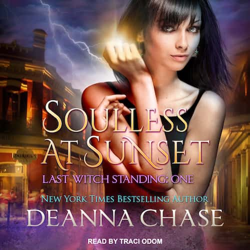 Audiobook cover for Soulless at Sunset audiobook by Deanna Chase