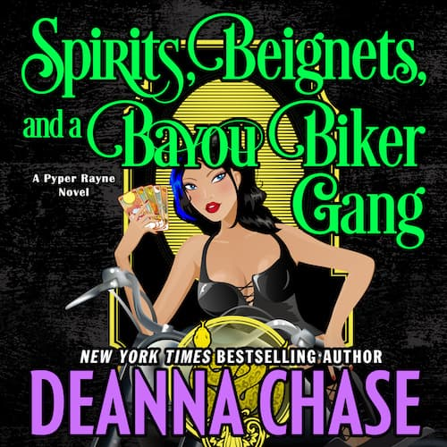 Spirits, Beignets, and a Bayou Biker Gang audiobook by Deanna Chase