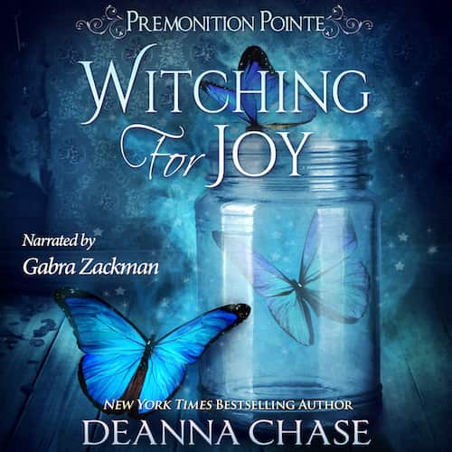 Audiobook cover for Witching For Joy audiobook by Deanna Chase