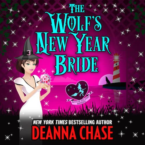 Audiobook cover for The Wolf's New Year Bride audiobook by Deanna Chase