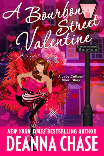 Book cover for A Bourbon Street Valentine by Deanna Chase