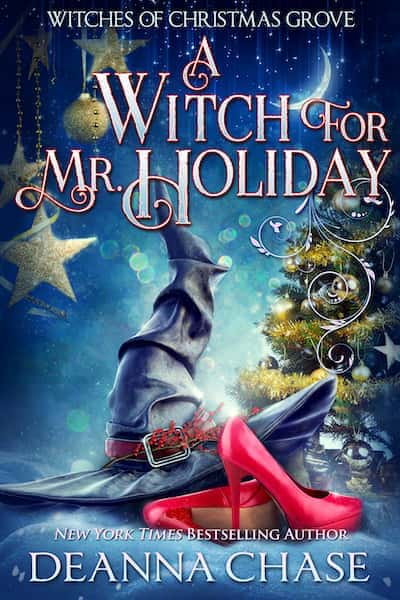 Book cover for A Witch For Mr. Holiday by Deanna Chase