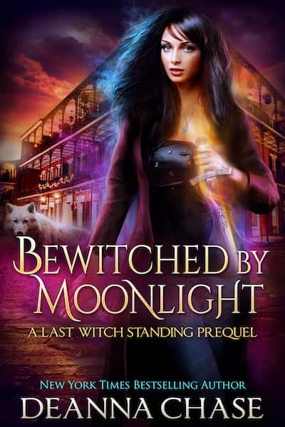 Book cover for Bewitched By Moonlight by Deanna Chase