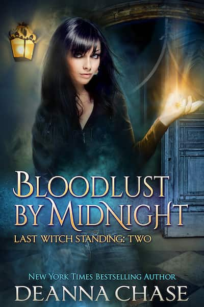 Book cover for Bloodlust By Midnight by Deanna Chase