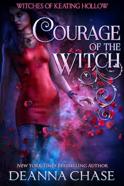 Book cover for Courage of the Witch by Deanna Chase