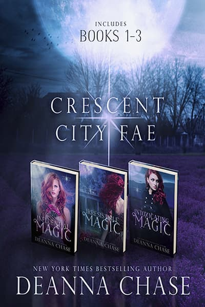 Book cover for Crescent City Fae Complete Boxed Set by Deanna Chase