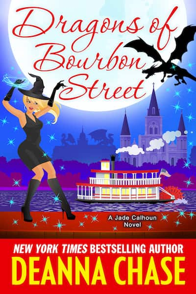 Book cover for Dragons of Bourbon Street by Deanna Chase