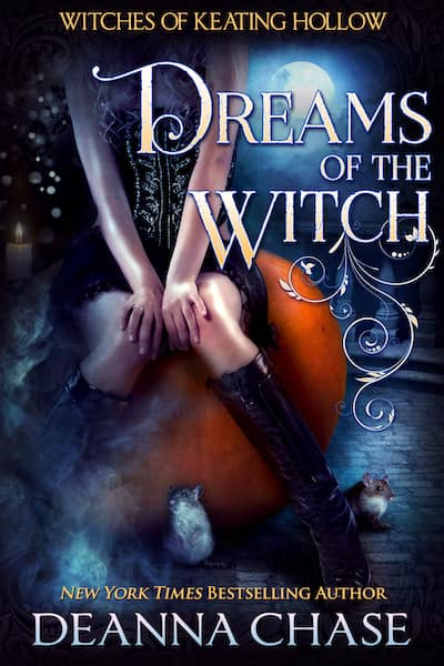 Book cover for Dreams of the Witch by Deanna Chase