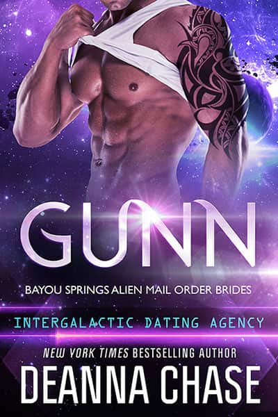 Book cover for Gunn by Deanna Chase