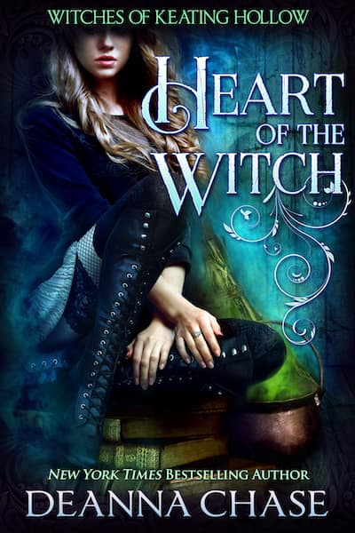 Book cover for Heart of the Witch by Deanna Chase