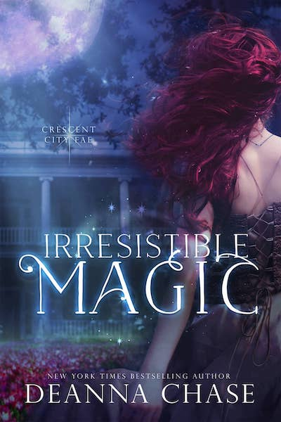 Book cover for Irresistible Magic by Deanna Chase
