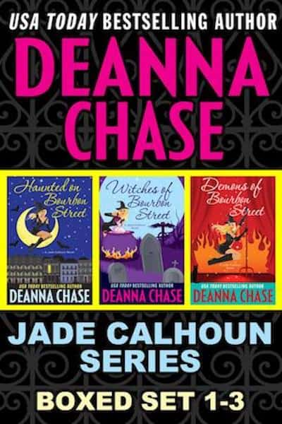 Book cover for Jade Calhoun Series Vol. 1 by Deanna Chase