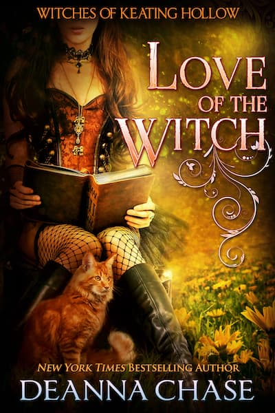 Book cover for Love of the Witch by Deanna Chase
