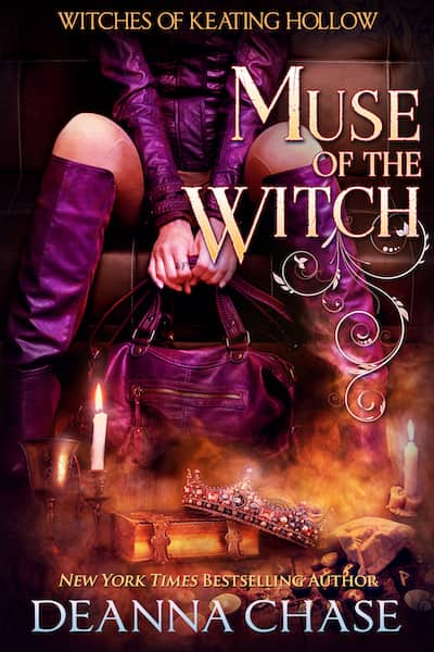 Book cover for Muse of the Witch by Deanna Chase