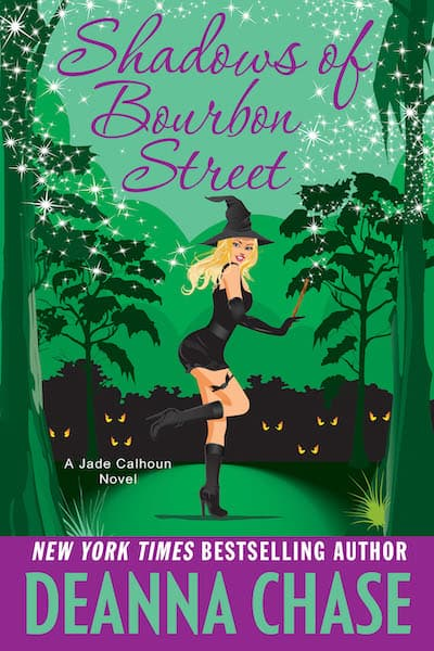 Book cover for Shadows of Bourbon Street by Deanna Chase