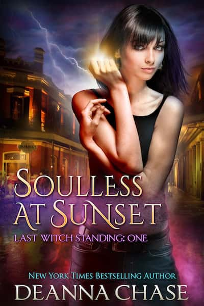 Book cover for Soulless at Sunset by Deanna Chase