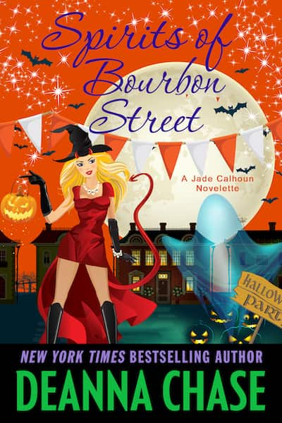 Book cover for Spirits of Bourbon Street by Deanna Chase
