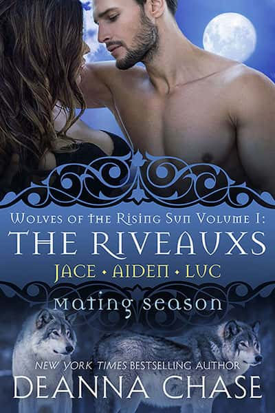 Book cover for The Riveauxs by Deanna Chase