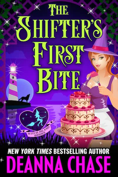 Book cover for The Shifter's First Bite by Deanna Chase