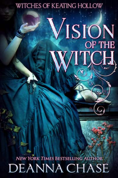 Book cover for Vision of the Witch by Deanna Chase