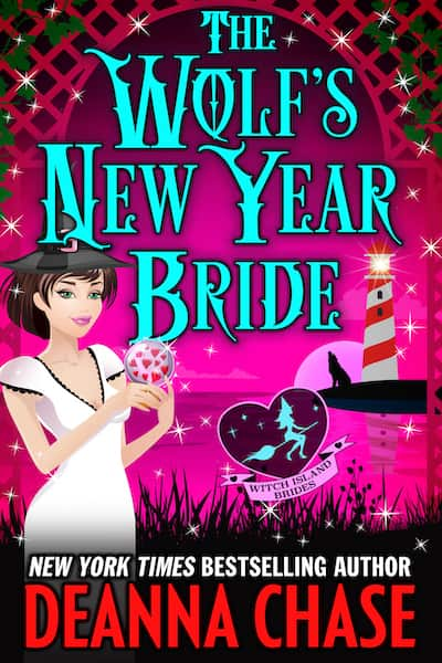 Book cover for The Wolf's New Year Bride by Deanna Chase